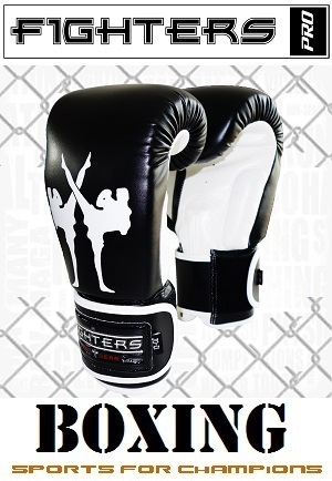FIGHTERS - Boxhandschuhe / Giant / Schwarz