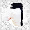 FIGHT-FIT - Box Shorts / Weiss-Schwarz