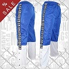 FIGHT-FIT - Pants Warm Up / Blau-Weiss