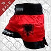 FIGHTERS - Thaibox Shorts: Albanien