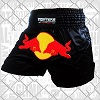 FIGHTERS - Muay Thai Shorts / Red Bull / Black