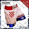 FIGHT-FIT - Muay Thai Shorts / Kroatien / Small