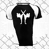 FIGHTERS - Rash Guard / Giant / Black-White