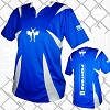 FIGHT-FIT - Kick-Boxing Shirt / Competition / Blau