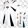 FIGHT-FIT - Kick-Boxing Shirt / Competition / Weiss