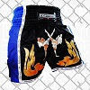 FIGHTERS - Thaibox Shorts / Elite Fighters / Black-Blue