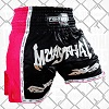 FIGHTERS - Thaibox Shorts / Elite Muay Thai / Black-Pink