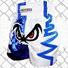 FIGHTERS - Muay Thai Shorts / No Fear / White Blue