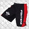 FIGHTERS - MMA Shorts / Cage / Schwarz-Rot