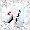 FIGHTERS - MMA Shorts / Combat / Weiss