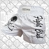 FIGHTERS - Muay Thai Shorts / Fight Club / White