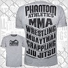 Phantom - MMA Sports T-Shirt / Grau