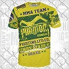 Phantom - Athletics T-Shirt / EVO Walkout / Brazil Yellow