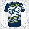 Phantom - MMA T-Shirt / Walkout / Navy-Weiss