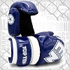 Top Ten - Point Fighting Handschuhe / Glossy Block / Blau