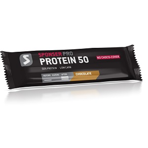 Sponser - Protein Bar 50 / Chocolate / 20 x 70 gr