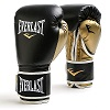 Everlast - Boxhandschuhe / Powerlock Training Gloves / Schwarz-Gold