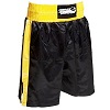 FIGHT-FIT - Box Shorts / Schwarz-Gelb / Small